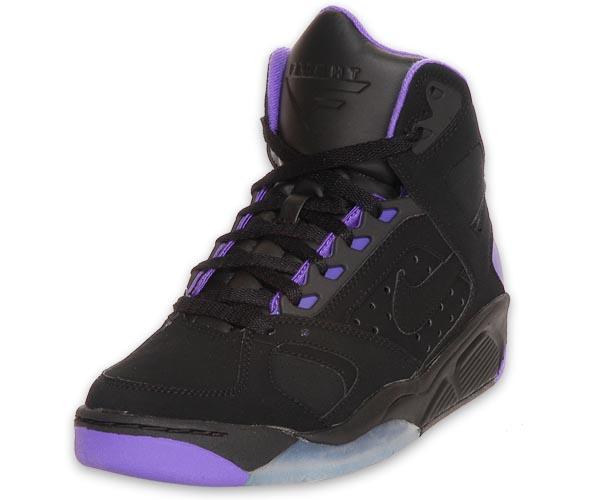 Nike Air Flight Lite High Black/Purple
