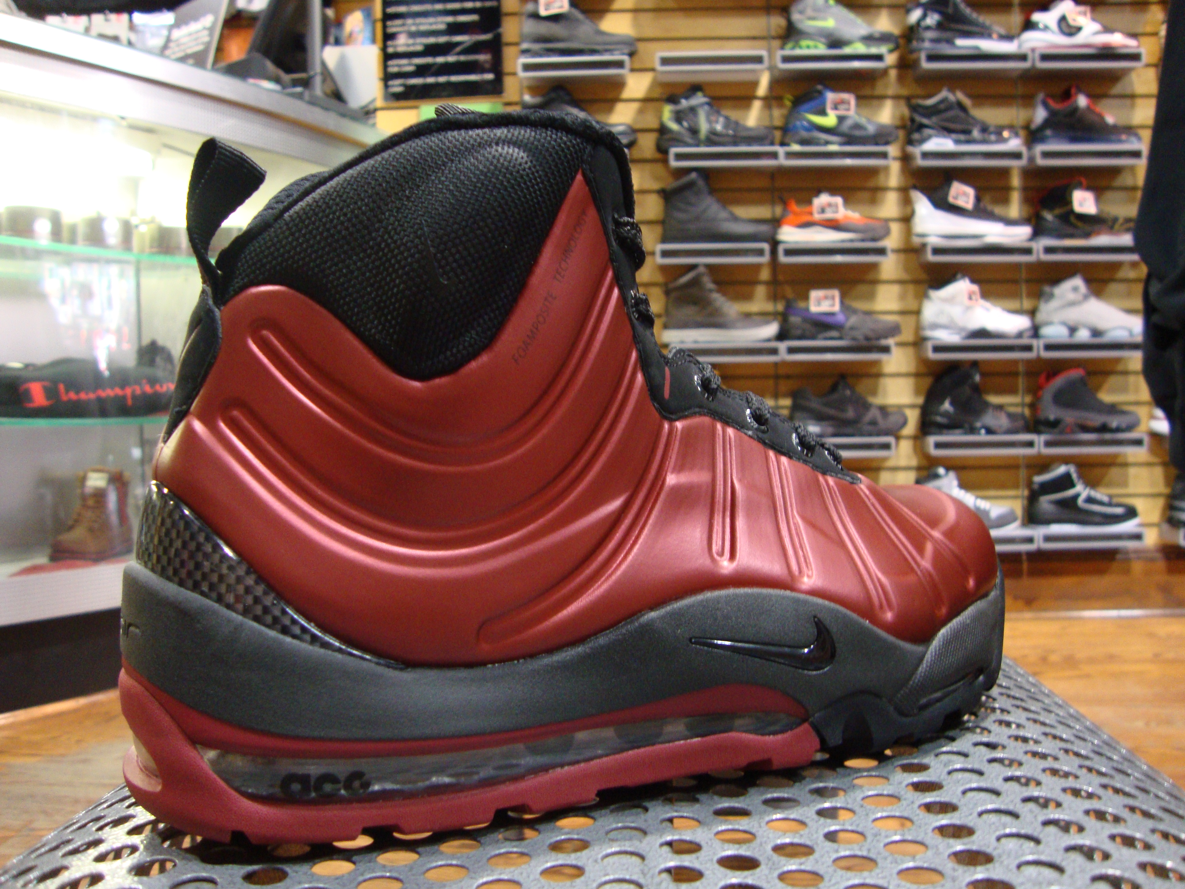 new product 99d3b 97240 Nike Air Max Posite Bacon Boot. Advertisements