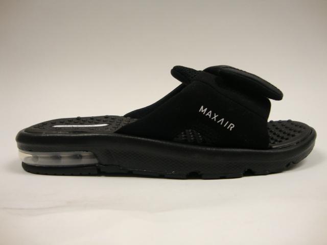 buy online 463f6 c910e Nike Air Max Moray 3 Flip Flop For Men In Black White