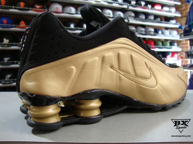 5049a33e3cd8 nike shox r4 gold