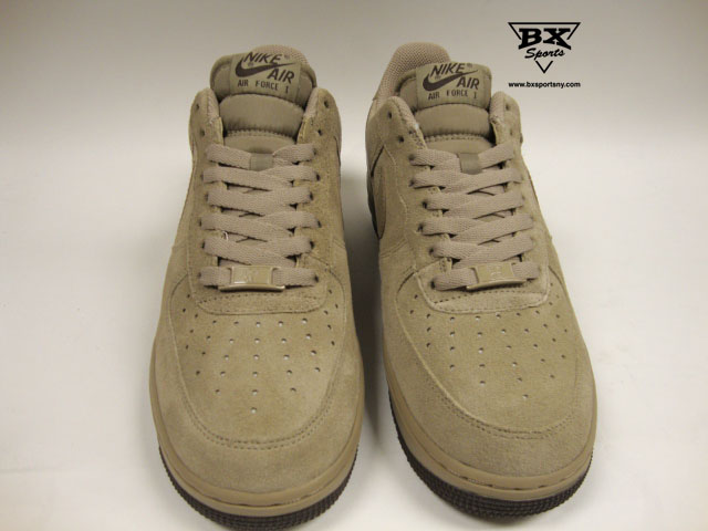 sports shoes 77c7b 19715 Nike Air Force 1 Low Suede-Khaki. Advertisements