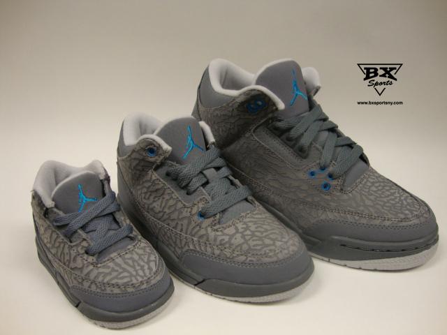"Air Jordan 3 Retro ""cool Grey"